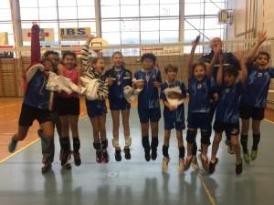 Tournoi de la chandeleur organisé par le club de Mende Volley-ball. Bonne ambiance et super goûter à la fin du tournoi !