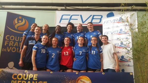 Les Filles Championnes de France M17F